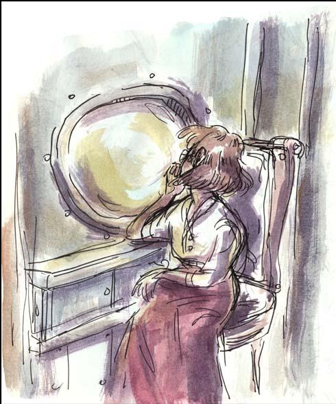 evie watercolor